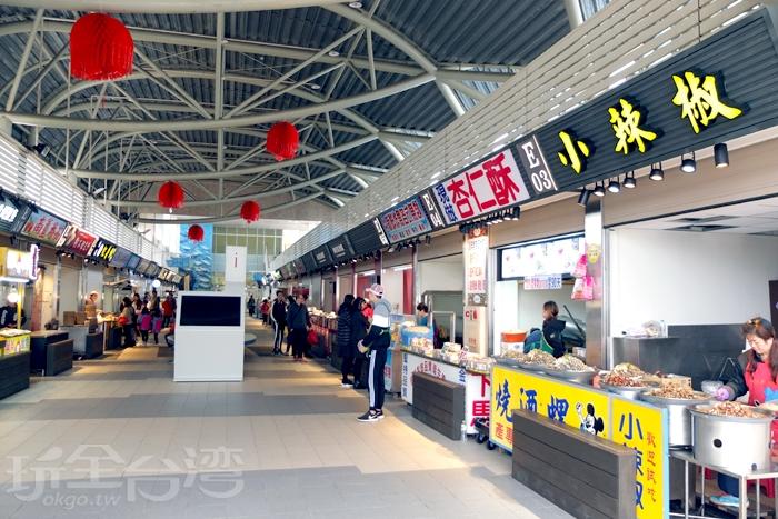 魚貨直銷中心規劃完善整潔/玩全台灣旅遊網特約記者阿辰攝