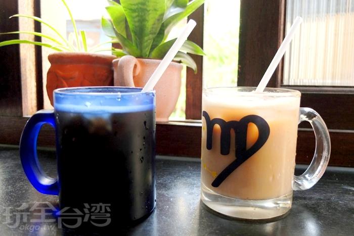 以濃縮鮮奶取代奶精,加上台灣產的茶葉煮出來的紅茶調配而成,甜度恰好,口感相當驚艷,奶香之濃郁讓人喝了第一口便大讚好喝!/玩全台灣旅遊網特約記者阿辰攝