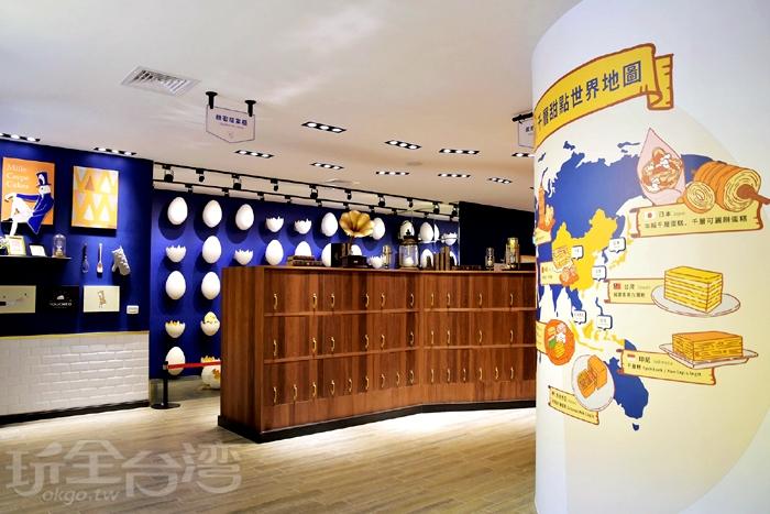 塔吉特千層蛋糕大使館-展區/玩全台灣旅遊網特約記者小玉兒攝