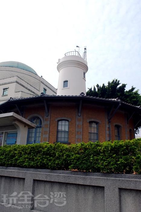 中央氣象局台南氣象站之前身乃是台南測候所/玩全台灣旅遊網特約記者阿辰攝