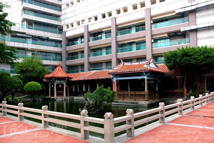 位於公會堂後方的吳園/玩全台灣旅遊網特約記者阿辰攝