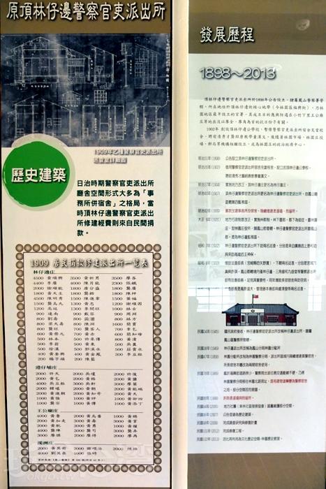 由咕咾石、紅磚拱門及磚柱砌建的壁牆,外觀相當堅固。/玩全台灣旅遊網特約記者阿辰攝
