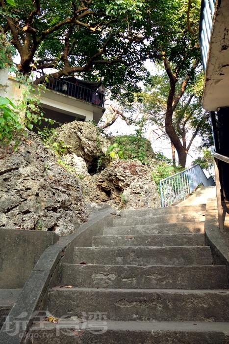 石階上充滿必拍景點/玩全台灣旅遊網特約記者阿辰攝