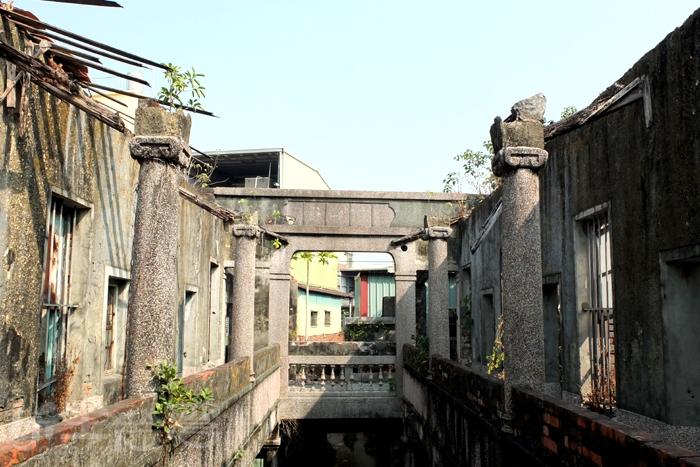 巴洛克式形式建築遺址/玩全台灣旅遊網特約記者阿辰攝