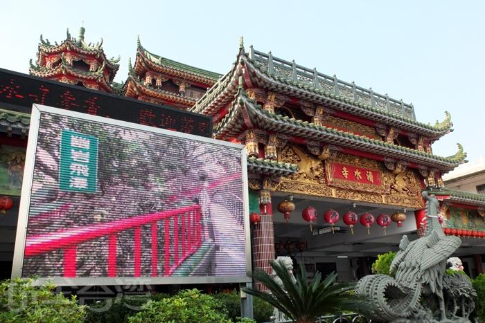 「清水巖清水寺」是當地歷史最悠久的古老廟宇,流傳著傳奇神蹟。/玩全台灣旅遊網特約記者阿辰攝