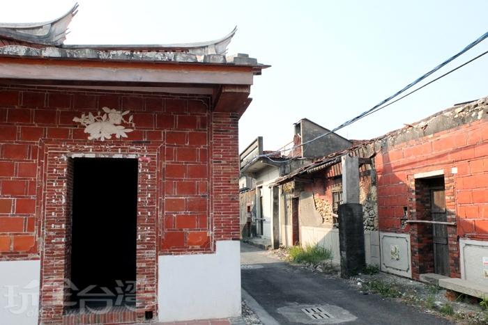 「港埔江夏黃氏古厝」是林園最具代表性的古厝建築群,扮演著供世人見證地方歷史的重要角色。/玩全台灣旅遊網特約記者阿辰攝