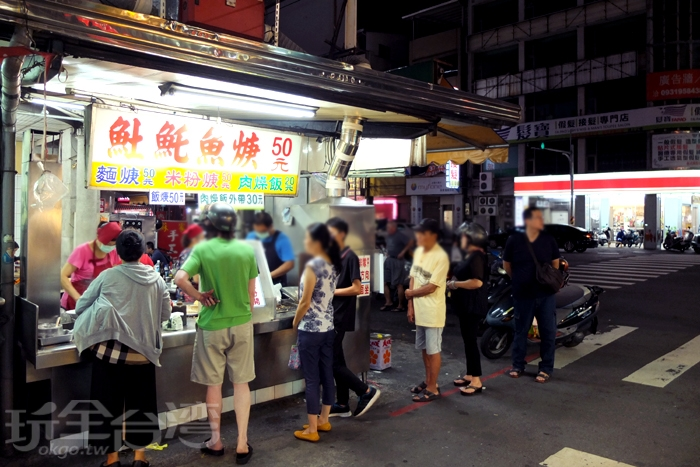 大排長龍的景象不分平日或假日,每天營業都是如此/玩全台灣旅遊網特約記者阿辰攝