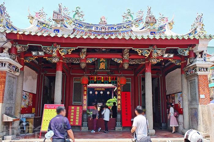 「祀典武廟」列屬國家一級古蹟/玩全台灣旅遊網特約記者阿辰攝