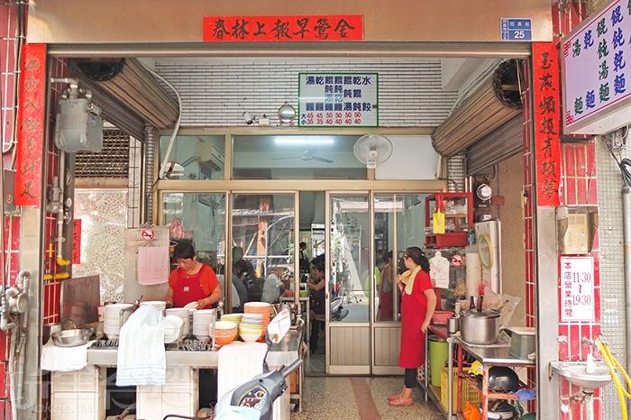 巷仔內的老牌麵店,幾年前連網路上的分享資訊都不多,更別提媒體採訪報導了,作風相當低調卻很受歡迎。/玩全台灣旅遊網特約記者阿辰攝