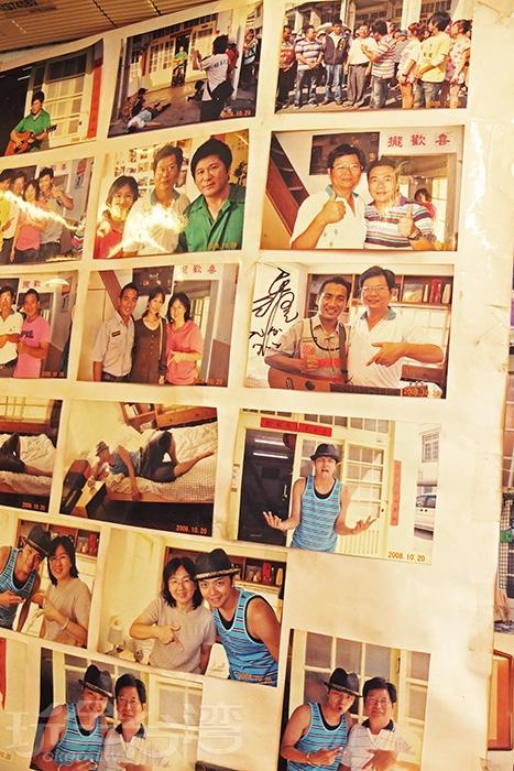 哇~不少藝人也在「阿嘉的家」留下了回憶,還有綜藝節目拍攝過喔/玩全台灣旅遊網特約記者阿辰攝