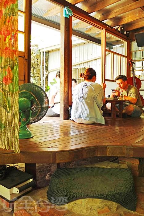 從照片裡就知道「白羊道柴燒麻糬」距離西門有多近了吧!/玩全台灣旅遊網特約記者阿辰攝