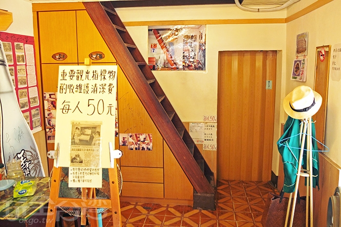 看了電影和其他格友的分享,大概知道二樓格局並不大/玩全台灣旅遊網特約記者阿辰攝