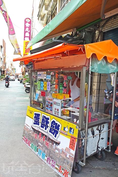僅此一家的「恆春蛋酥餅」已經在恆春當地飄香有五年時間/玩全台灣旅遊網特約記者阿辰攝