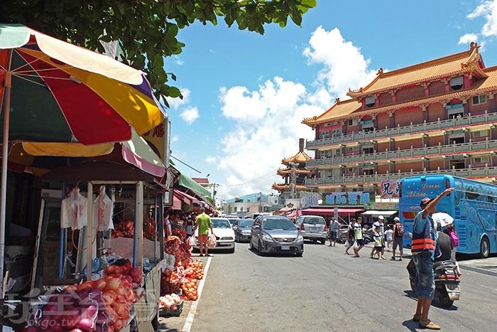 位在福安宮附近的「皮蛋鹹蛋的大賣場」/玩全台灣旅遊網特約記者阿辰攝