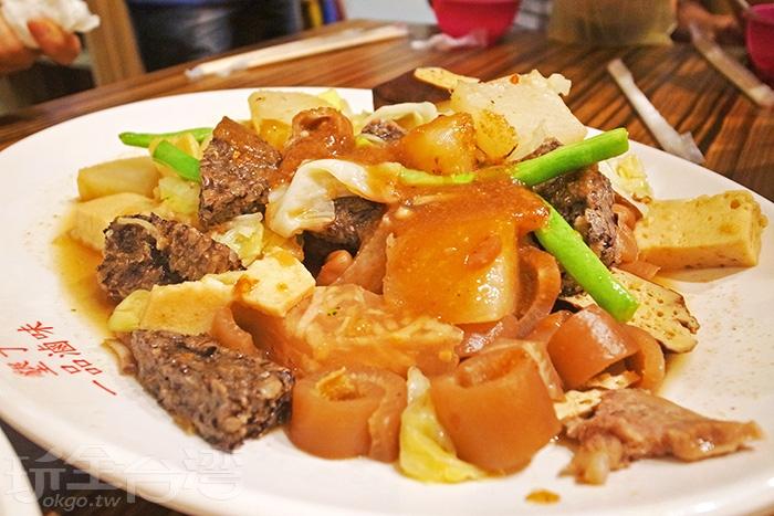 用一盤店家推薦的必點滷味結束今天這一回合吧!/玩全台灣旅遊網特約記者阿辰攝