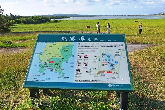 湖畔邊的景致迷人地讓人邁不出腳/玩全台灣旅遊網特約記者阿辰攝