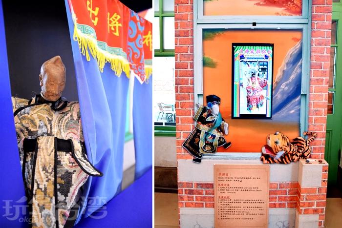 雲林布袋戲館-互動區/玩全台灣旅遊網特約記者小玉兒攝