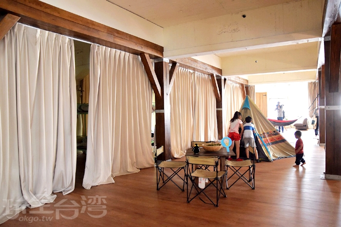 鑽石背包客樓層空間/玩全台灣旅遊網特約記者小玉兒攝