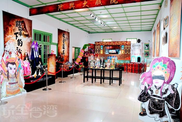 雲林縣有「布袋戲的故鄉」之稱/玩全台灣旅遊網特約記者小玉兒攝