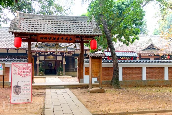 日式的神社風格讓許多人喜愛/玩全台灣旅遊網特約記者阿辰攝