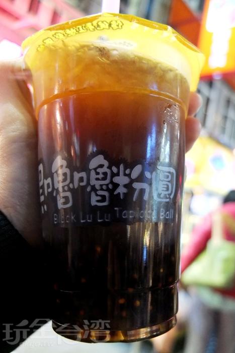 現煮粉圓,等了至少10分鐘才喝到這杯黑糖粉圓/玩全台灣旅遊網特約記者阿辰攝