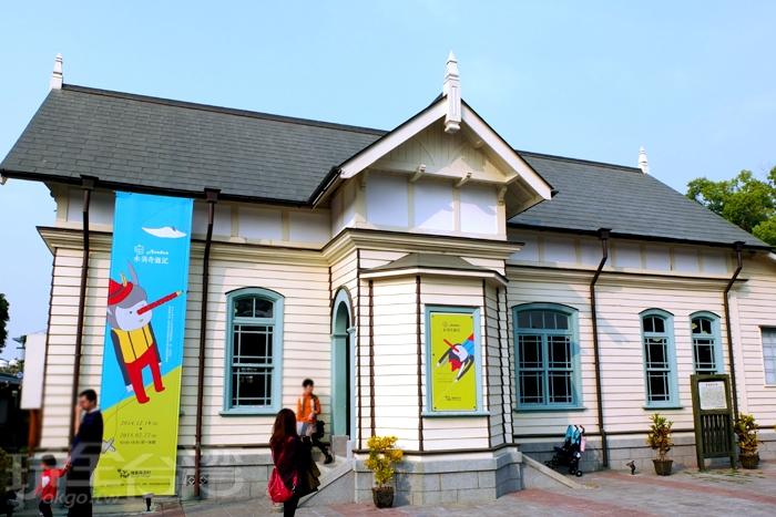 營林俱樂部老屋位於嘉義名景點「檜意森活村」園區內/玩全台灣旅遊網特約記者阿辰攝