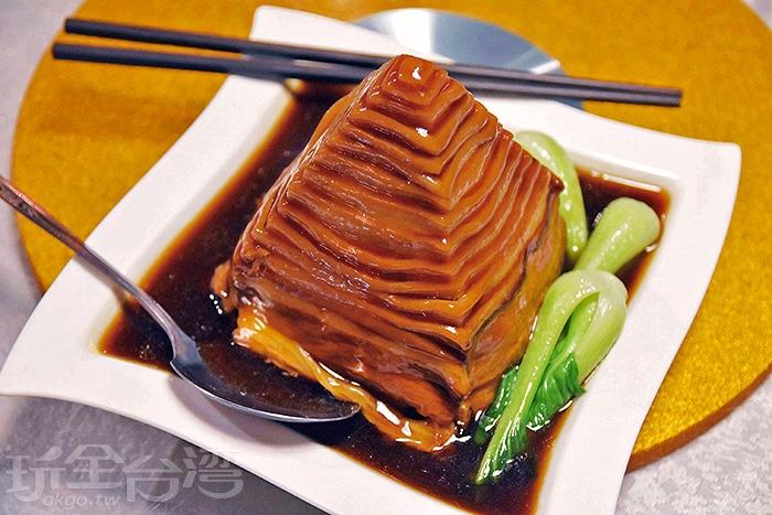 蘇杭一刀肉-宏銘的廚房著名的特色招牌菜/玩全台灣旅遊網特約記者小玉兒攝