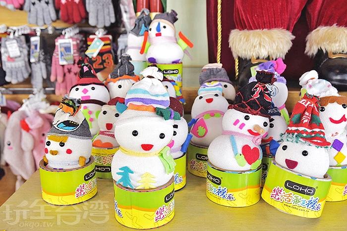 襪子娃娃DIY/玩全台灣旅遊網特約記者小玉兒攝