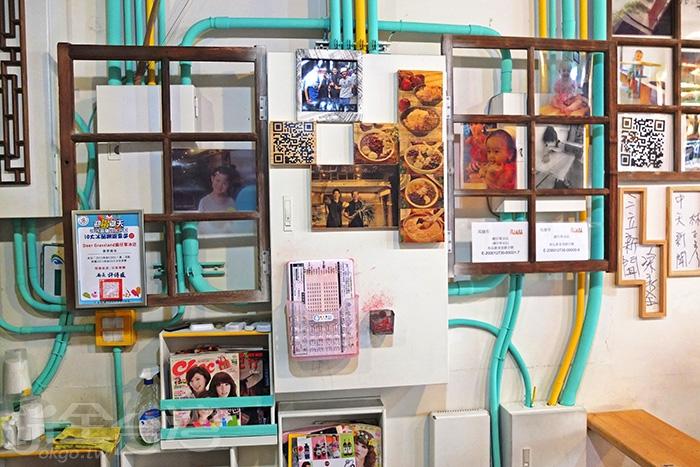 店內融入蠻多這類木框與木窗作搭配,增添不少藝術感/玩全台灣旅遊網特約記者阿辰攝