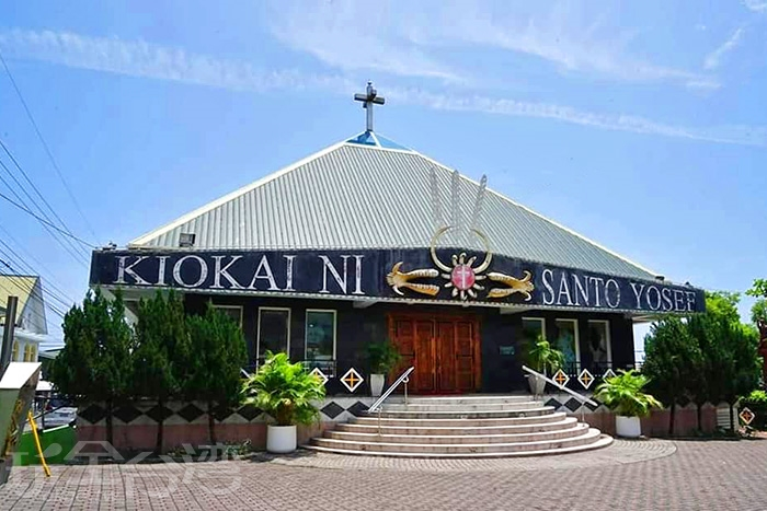 外觀相當有排灣族特色的聖若瑟教堂,值得一看。/玩全台灣旅遊網特約記者隱月攝