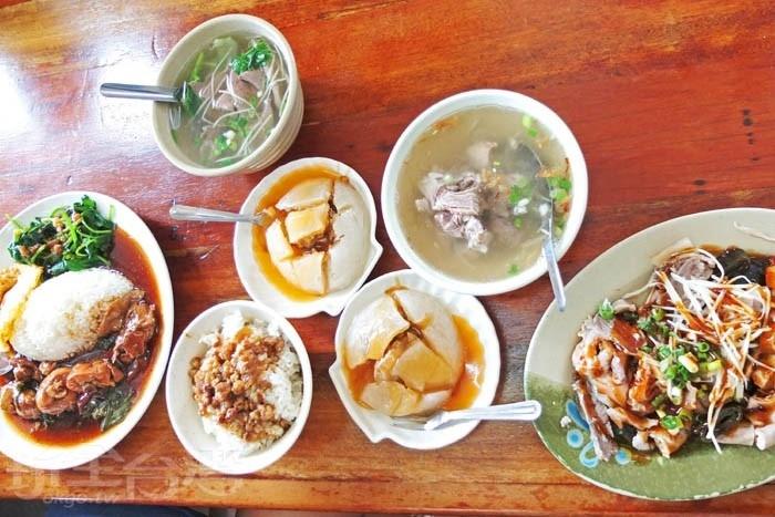 除了肉圓外,還有許多必點好料,別錯過囉!/玩全台灣旅遊網特約記者阿辰攝