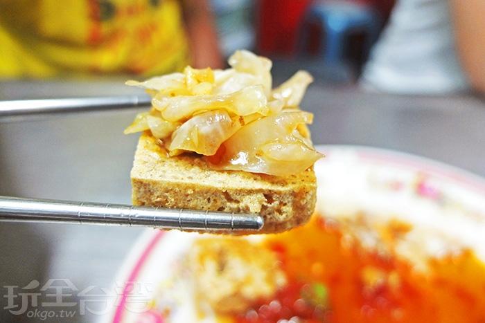 小巧薄片,脆皮裡面帶點濕潤,相當好吃。/玩全台灣旅遊網特約記者阿辰攝