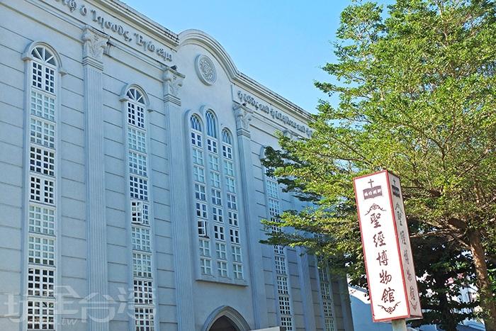 歐洲巴洛克式風格的建築外觀也成了福州街上最獨特的風景。/玩全台灣旅遊網特約記者阿辰攝