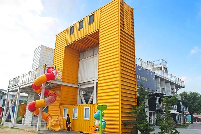 最具特色的貨櫃屋/玩全台灣旅遊網特約記者阿辰攝
