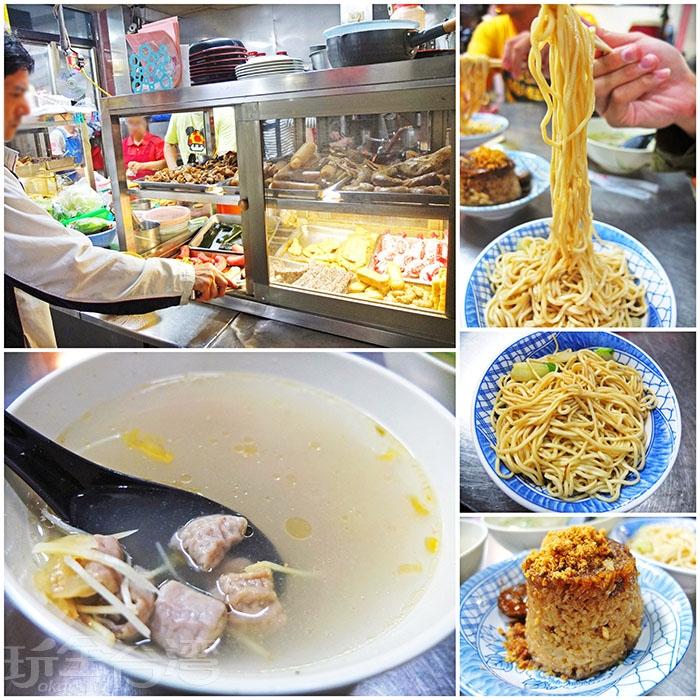 乾麵較為清爽,對於喜歡吃清淡一點的朋友是一項好選擇。/玩全台灣旅遊網特約記者阿辰攝