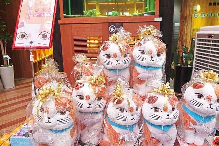 還有超可愛的小貓商品,讓人衝動想買一隻回家。/玩全台灣旅遊網特約記者阿辰攝