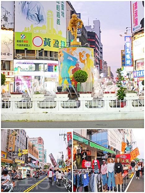 嘉義人和觀光客的下午、晚上必遊景點,吃喝玩樂應有盡有。/玩全台灣旅遊網特約記者阿辰攝