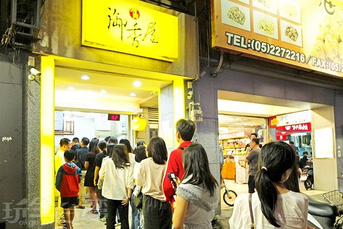 超夯的飲料店總是排著長長的人龍/玩全台灣旅遊網特約記者阿辰攝