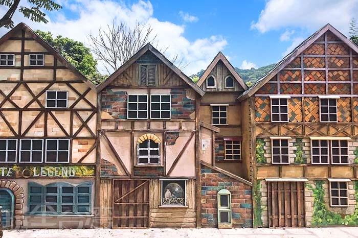 不用出國也可以見到歐洲風情小屋。/玩全台灣旅遊網特約記者隱月攝