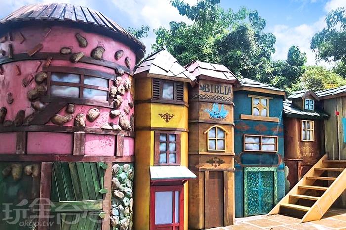 好像來到哈利波特裡那充滿魔法的世界。/玩全台灣旅遊網特約記者隱月攝