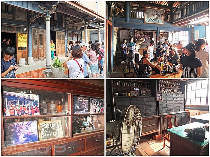 超過百年歷史的「金德興中藥舖」因《俗女養成記》拍攝場景而爆紅,已成菁寮老街上人氣最高的景點。/玩全台灣旅遊網特約記者阿辰攝