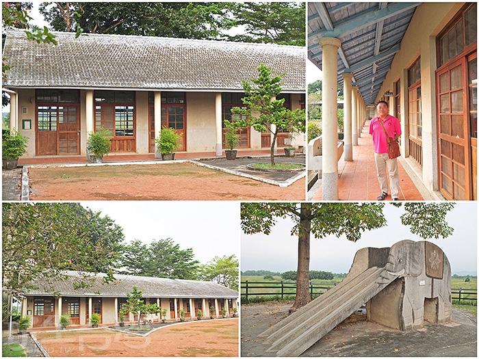 校園規模可以說是迷你型的,放眼望去大概就是學校的全部了/玩全台灣旅遊網特約記者阿辰攝