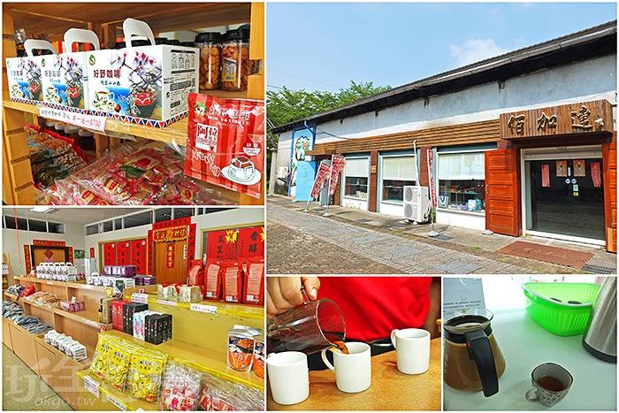 商品販買區。/玩全台灣旅遊網特約記者阿辰攝