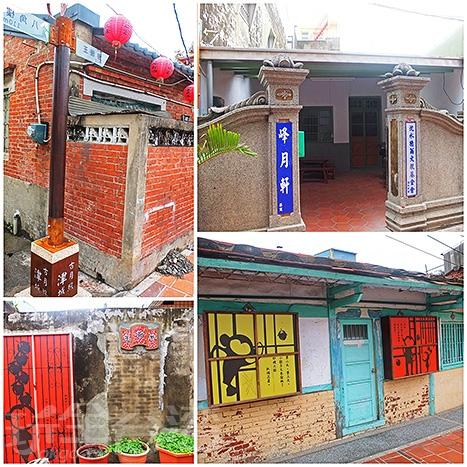 斑駁的磚牆與古厝門面就有關於小猴子的故事可以看。/玩全台灣旅遊網特約記者阿辰攝