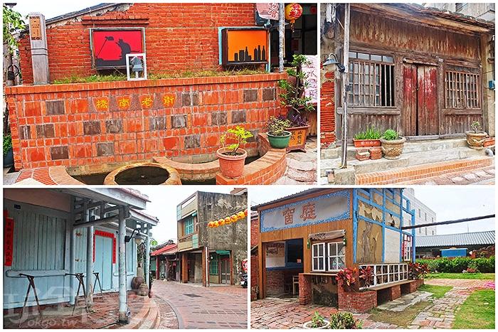 橋南老街是老一輩當地人口中說的鹽水第一條街道,後因時代變遷而逐漸沒落。/玩全台灣旅遊網特約記者阿辰攝