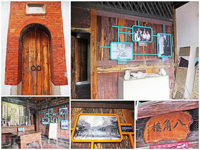 屋內會看到這類的老照片,並附上一些說明文字,帶領我們更快熟悉鹽水從前的老故事。/玩全台灣旅遊網特約記者阿辰攝