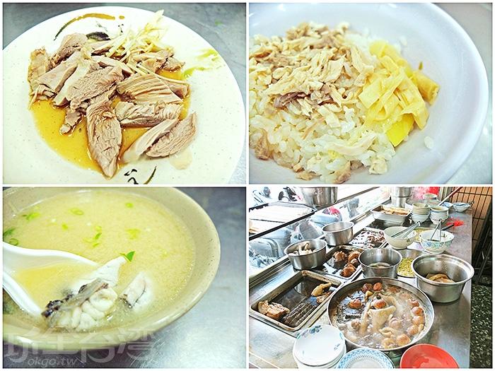 雞肉飯小碗20元、大碗30元,若再點個味噌魚湯和一份雞肉,滷大腸、滷白菜等等幾樣小菜,實在滿意!/玩全台灣旅遊網特約記者阿辰攝