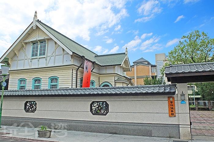 古色古香的日式風味,來到這裡,彷彿置身日本的錯覺想像中。/玩全台灣旅遊網特約記者阿辰攝