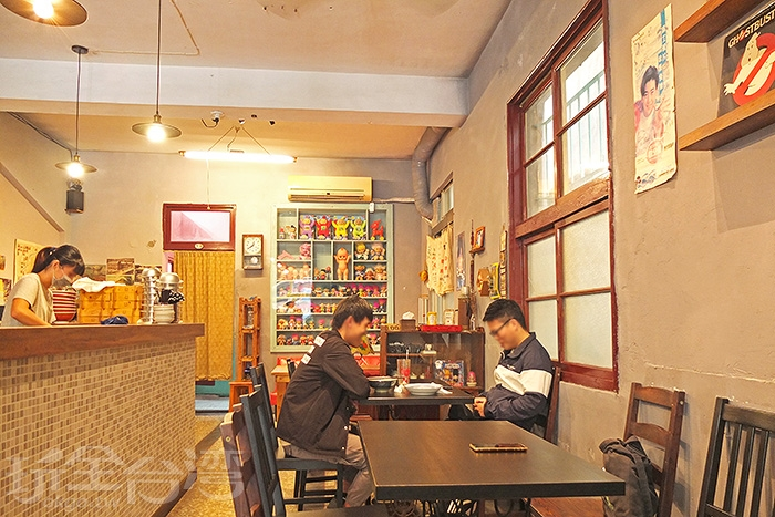店內空間不算大,座位數不多,能在這裡用餐真是種享受。/玩全台灣旅遊網特約記者阿辰攝