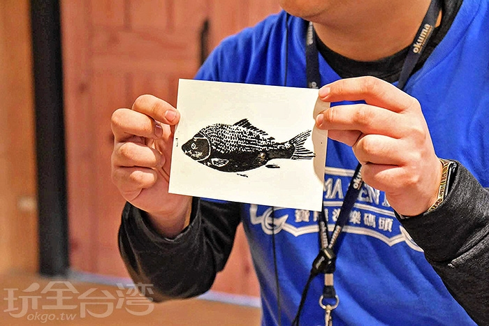 寶熊漁樂碼頭-二樓釣魚故事館/玩全台灣旅遊網特約記者小玉兒攝